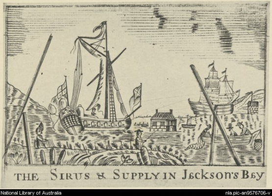 Sirius and Supply 1789 nla