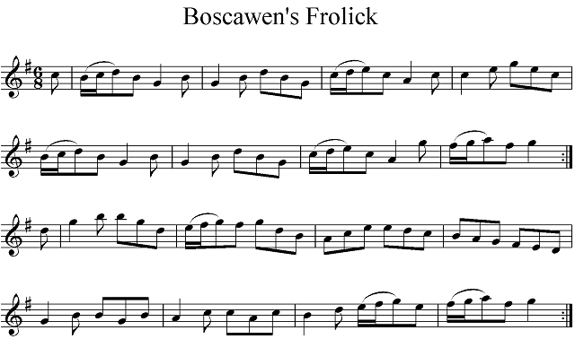Boscawen's Frolick Upload