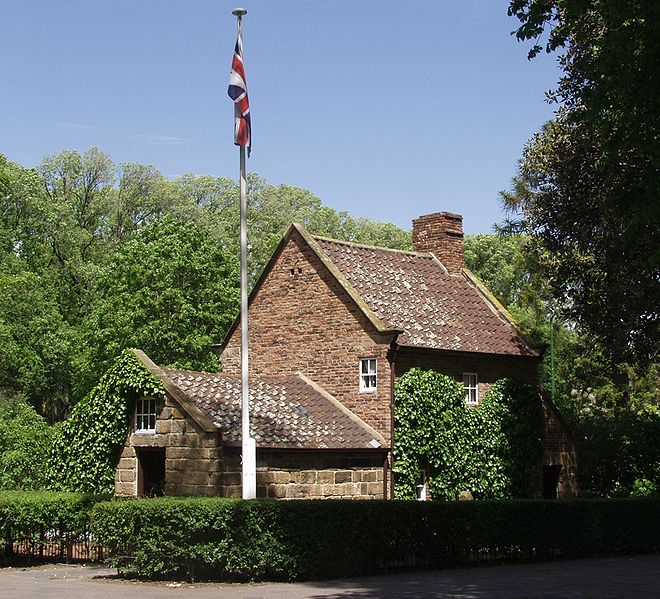 Cook's Cottage, Melbourne. Courtesy of Wikipedia