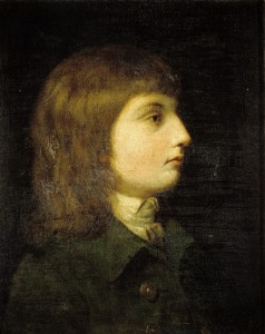 Matthew Flinders at approximately 15 years of age. Painted by Gainsborough Dupont ca. 1788-ca. 1790.