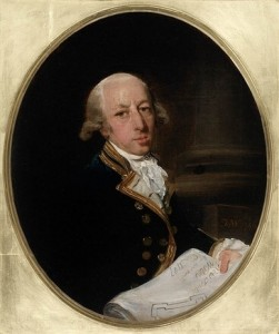 Captain Arthur Phillip, 1786 painted by Francis Wheatley (1747-1801) State Library of New South Wales. ML 124