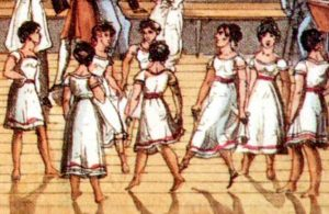 Children Dancing at New Lanark. Image courtesy of New Lanark World Heritage Site http://www.newlanark.org/