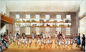 Dancing at New Lanark. Image courtesy of New Lanark World Heritage Site http://www.newlanark.org