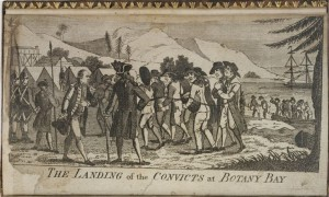 Landing of convicts at Botany Bay_Tench