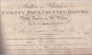 Button and Whitaker 1813 title page