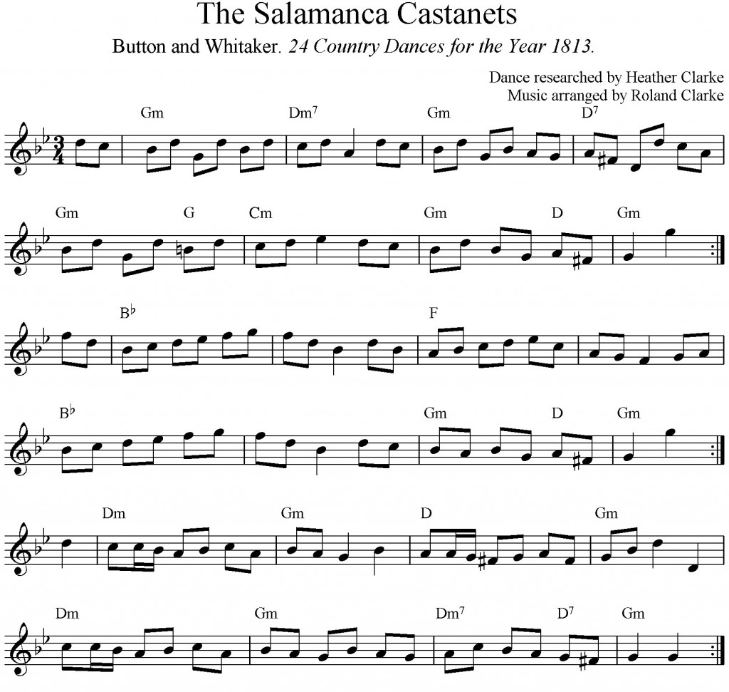 The Salamanca Castanets music
