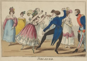 Boliero. Published in Dublin (1800 - 1809). Jerome Robbins Dance Division, The New York Public Library.
