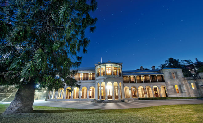 The Grand Colonial Regency Ball for the Leukaemia Foundation will be held in Old Government House - Brisbane's most important heritage building. Image courtesy of http://www.ogh.qut.edu.au/visiting/
