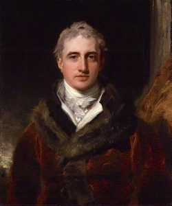 Robert Stewart, Viscount Castlereagh, 2nd Marquess of Londonderry by Thomas Lawrence c.1810. National Portrait Gallery. https://commons.wikimedia.org/wiki/File:Lord_Castlereagh_Marquess_of_Londonderry.jpg
