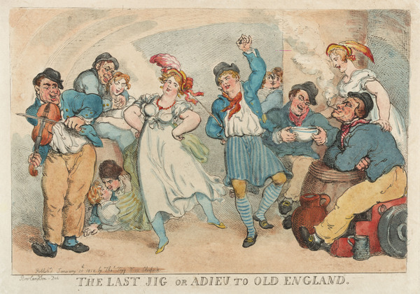 'The Last Jig or Adieu to Old England'