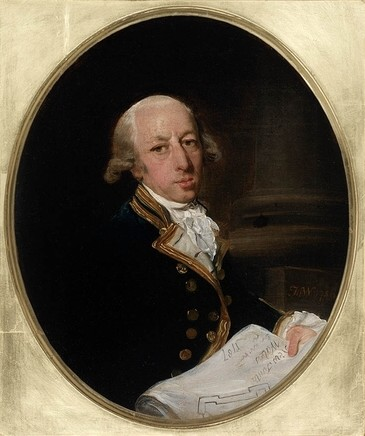 Portrait of Captain Arthur Phillip, 1786 painted by Francis Wheatley (1747-1801) State Library of New South Wales. ML 124 http://trove.nla.gov.au/version/14288959
