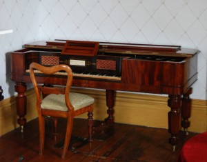 Lady Franklin's piano